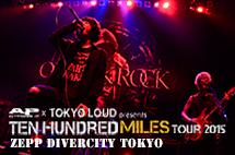 TEN HUNDRED MILES TOUR 2015