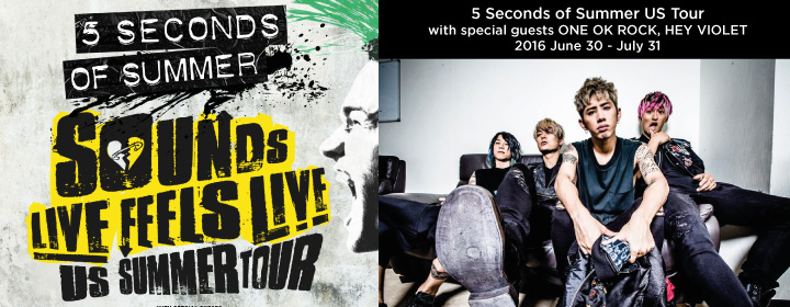 5 Seconds of Summer US Tour
