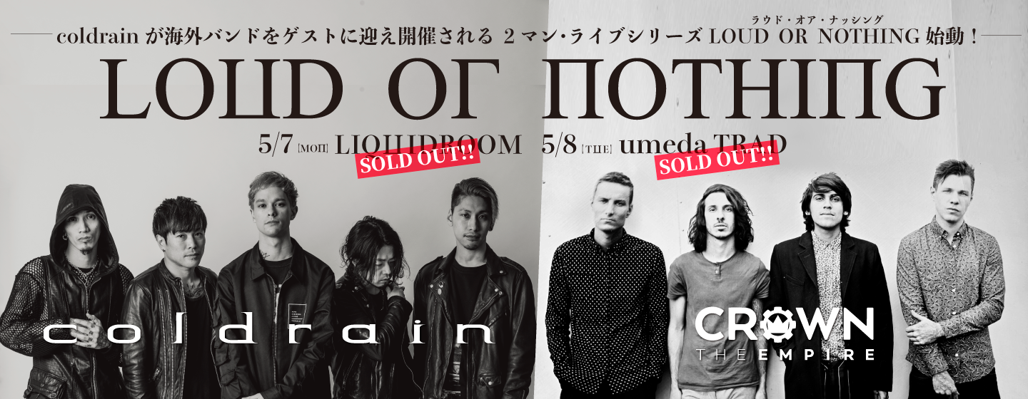 coldrain / Crown The Empire