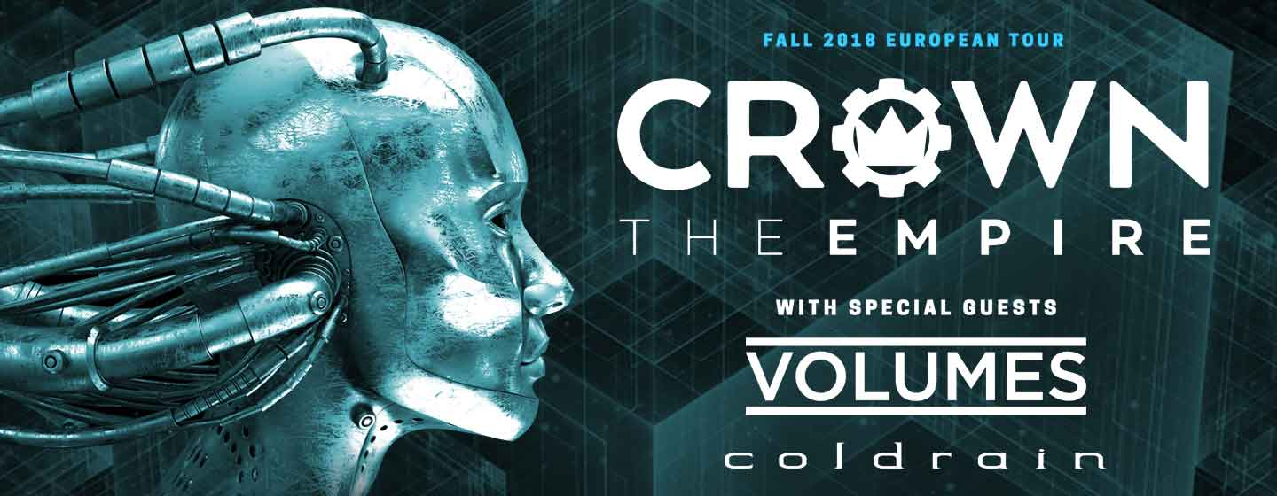 CROWN THE EMPIRE / coldrain / Volumes