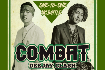 REGGAE DEEJAY ONE-TO-ONE MC BATTLE  COMBAT2 〜DEEJAY CLASH〜