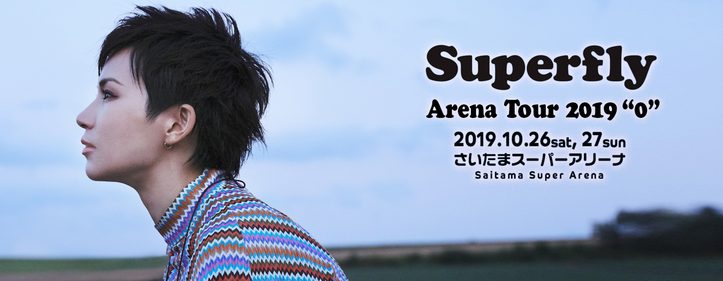 """Superfly Arena Tour 2019""""0"""""""