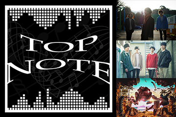 H.I.P. x BARKS x ローチケ presents TOP NOTE
